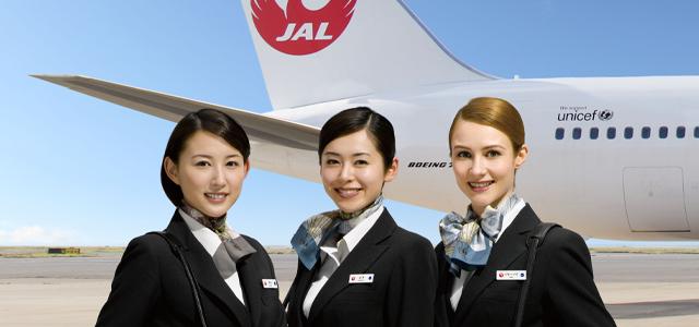 Image result for TIẾP VIÊN JAPAN AIRLINES